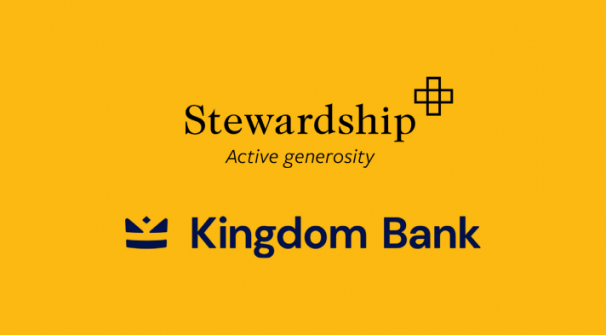Stewardship joins with Kingdom Bank